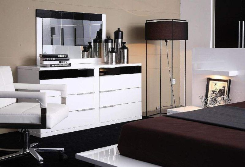 cheap modern white dressers and modern black dressers for your bedroom